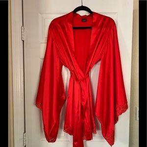 La Perla silk and lace robe
